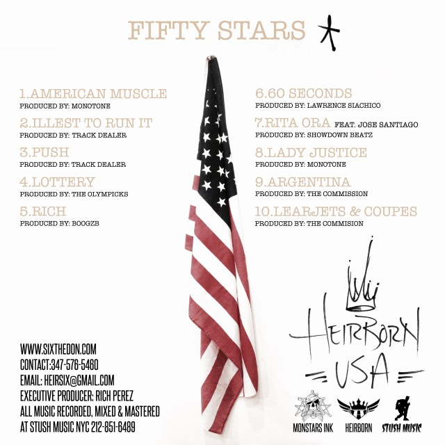 filtered back cover fifty stars 2017